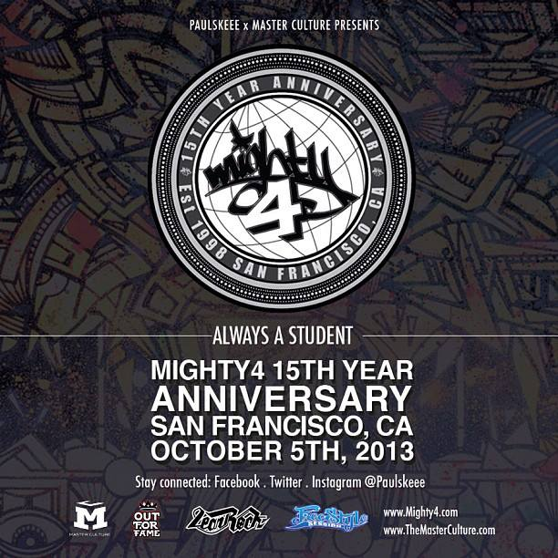 MIGHTY 4 15 Years