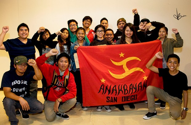 This event wouldn't have been possible without the aid of Anakbayan SD! Much love to our kasamas